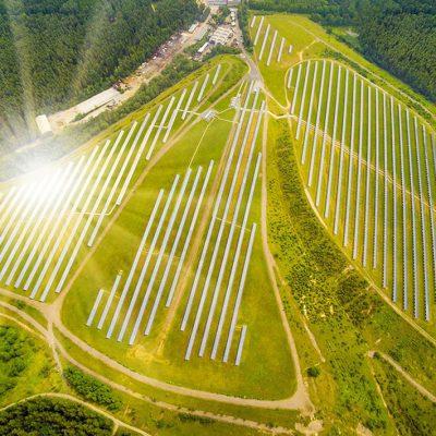 Solar Panels Could Make Saltwater Safe for Farming