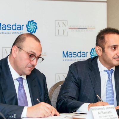 Masdar to pursue renewable energy opportunities in Armenia